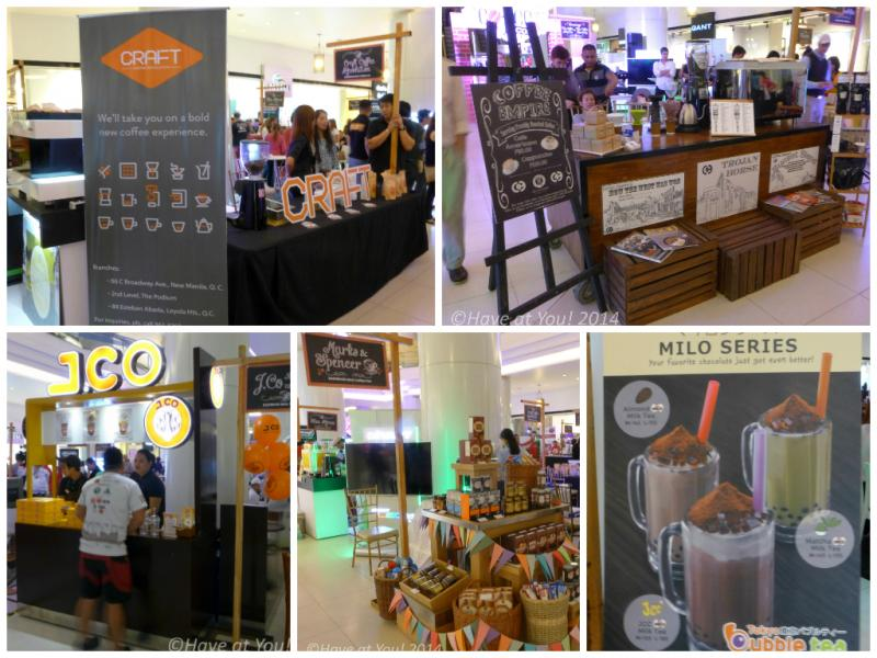 coffee con vendors collage