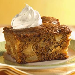 Fresh Ginger Pear Cake