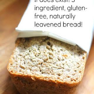 Gluten-Free, Naturally-Leavened, Whole Buckwheat, Sourdough Bread.