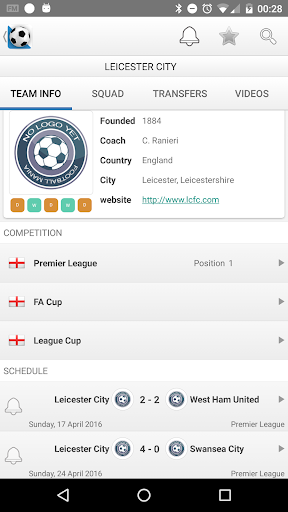 Football Live Scores screenshot 6