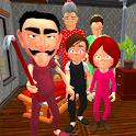 Neighbor's Secret. Family Escape 3D icon