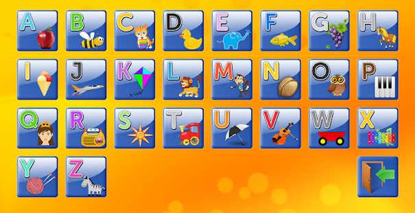 Alphabet and Letters- screenshot thumbnail
