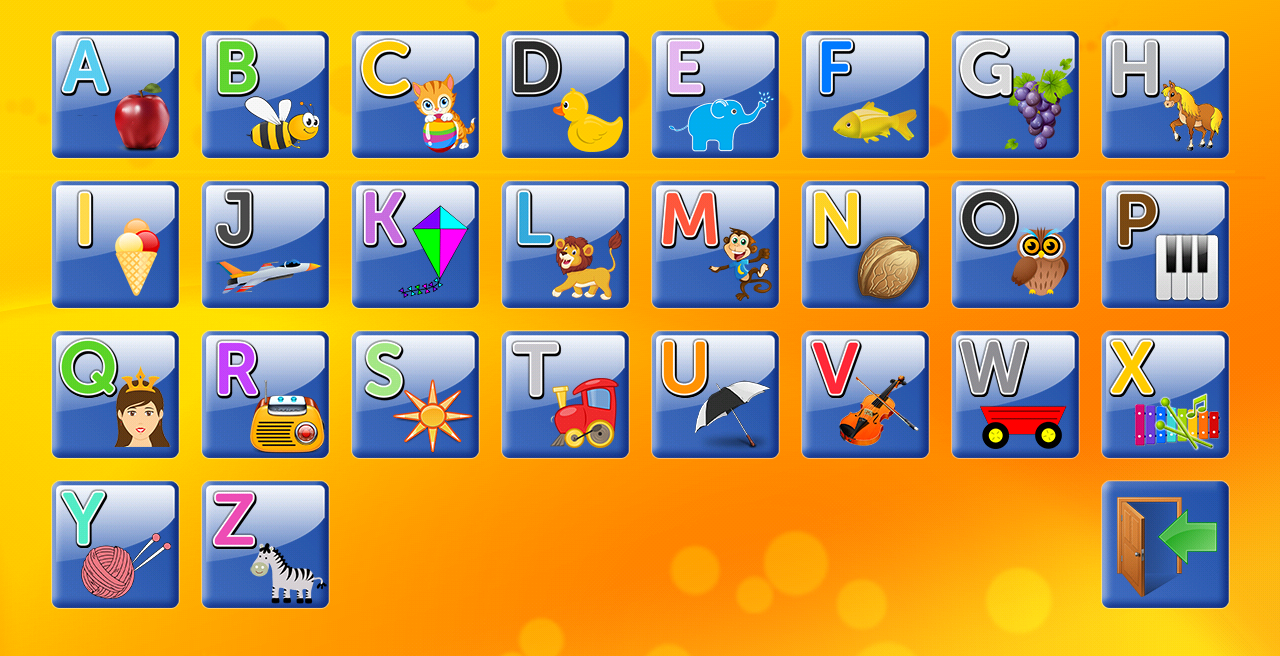 Alphabet and Letters- screenshot