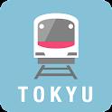 東急線アプリ/運行情報プッシュ通知・遅延証明書・のるレージ icon
