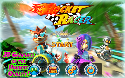 Rocket Racer para Android