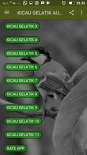 Kicau Gelatik Audio Track - náhled