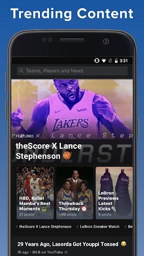 theScore: Live Sports Scores, News, Stats & Videos 6.24.1 screenshots 8