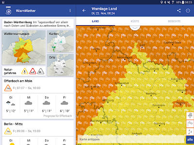 WarnWetter screenshot 5