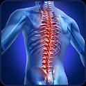 Spine exercises icon