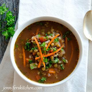 Italian Lentil Vegetable Soup