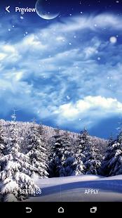 Zimní Živá Tapeta - náhled