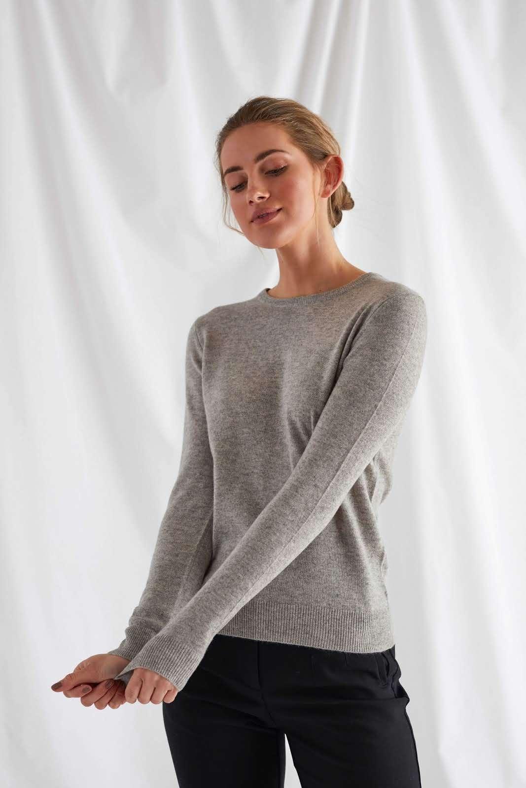 Basic O-neck Sweater
