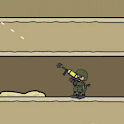 Mini Information Militia Doodle about Army maps 2 icon