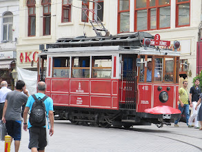 Photo: Day 106 - The Old Tram to Taksim #2