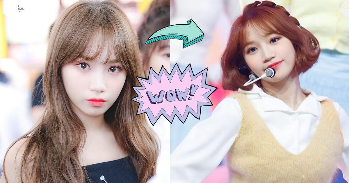 10 Female Idols Amazing Transformations With Short Hair Koreaboo