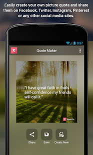 QuotePic - Quote Maker- screenshot thumbnail