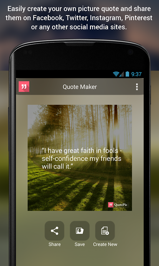 QuotePic - Quote Maker- screenshot