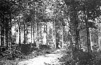 Photo: Erosen hirsitalo, Esankatu 12. Kuva 1987