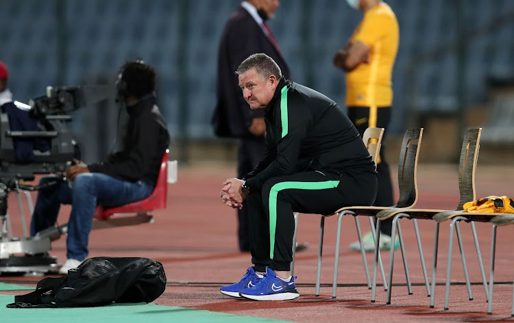 Gavin Hunt has struggled to get Kaizer Chiefs buzzing under extremely difficult situation at the club.