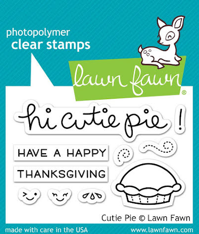 Lawn Fawn Clear Stamps 3X2 - Cutie Pie