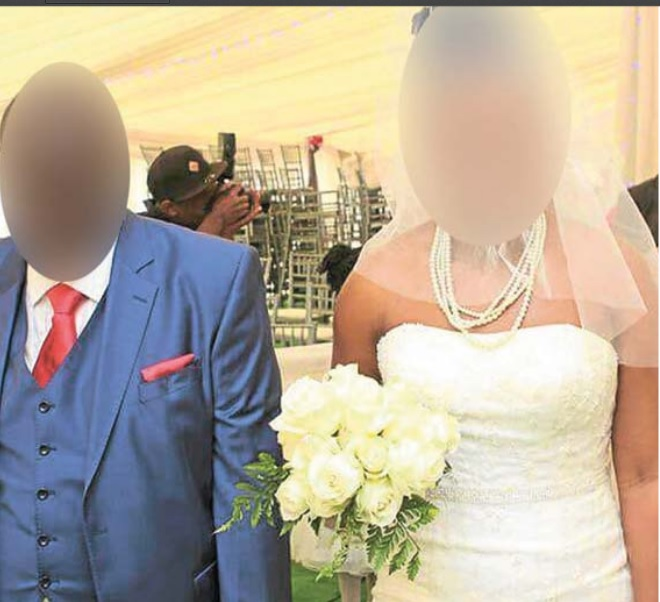 The couple were married in a lavish wedding ceremony four years ago.