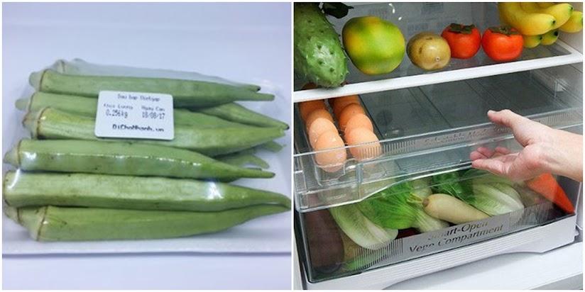 Cách chọn và bảo quản đậu bắp non, giòn gần cả tuần không hư thối