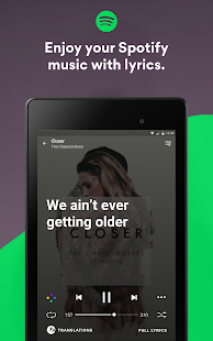 Musixmatch Lyrics Screenshot
