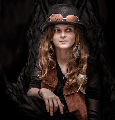 steampunk girl di bi
