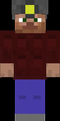 Minecraft Mensch