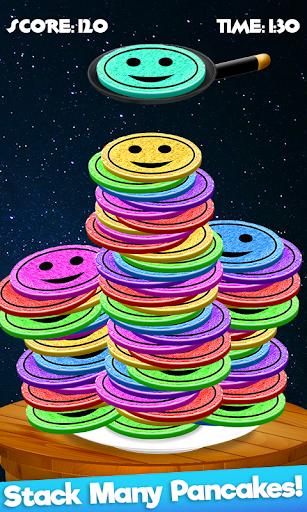 Code Triche Rainbow Pancake Towers - Pile Up Breakfast Game APK MOD screenshots 3