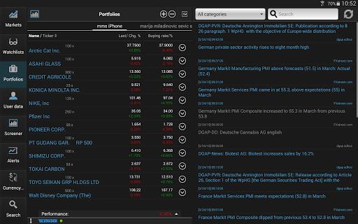 StockMarkets screenshot 7