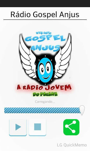 Rádio Gospel Anjus screenshot 1