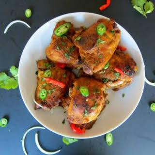 Pressure Cooker Tandoori Chicken.