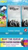 Screenshot of Novo Cinemas