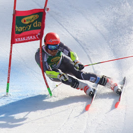 Race by Igor Martinšek - Sports & Fitness Snow Sports
