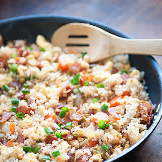 Bacon Fried Rice.