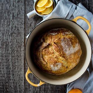 Meyer Lemon Rosemary Bread – in a Dutch Oven!.