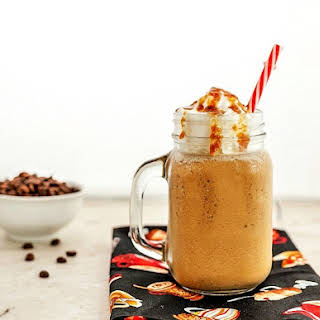 Vanilla Caramel Frappuccino Low Carb.