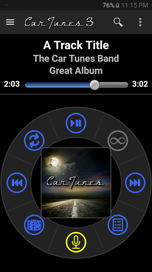 Car Tunes Music Player Pro- screenshot