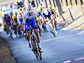 Pieter Serry heeft al moeten opgeven in de Ronde van Catalonië na een valpartij