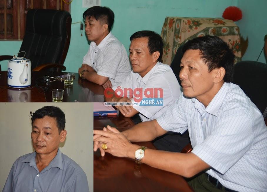 Tạm giam 03 bị can gồm: Phan Tiến Sỹ, Nguyễn Thọ Huy, Nguyễn Văn Thanh và Nguyễn Thọ Vinh (ảnh nhỏ)