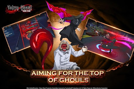 Tokyo Ghoul: Dark War Apk Download For Android and Iphone 5