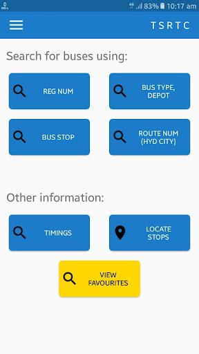 TSRTC Hyderabad - Live Tracking and Info 4.7 screenshots 1