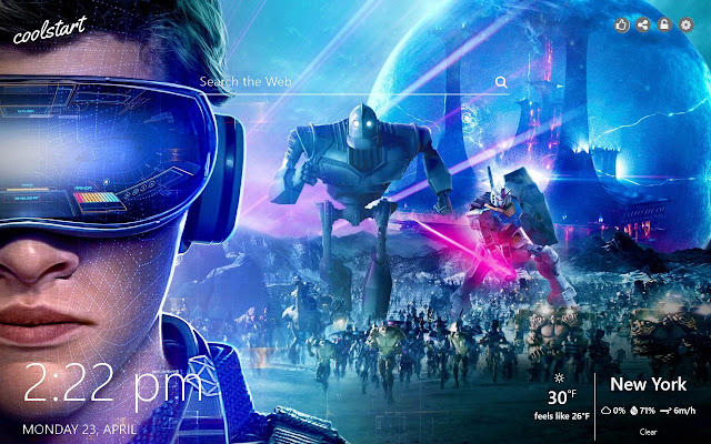 Ready Player One HD Wallpapers New Tab Theme