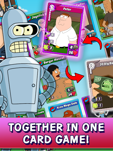Download Animation Throwdown: Your Favorite Card Game! MOD APK 10