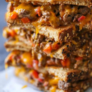 Cheeseburger Grilled Cheese.