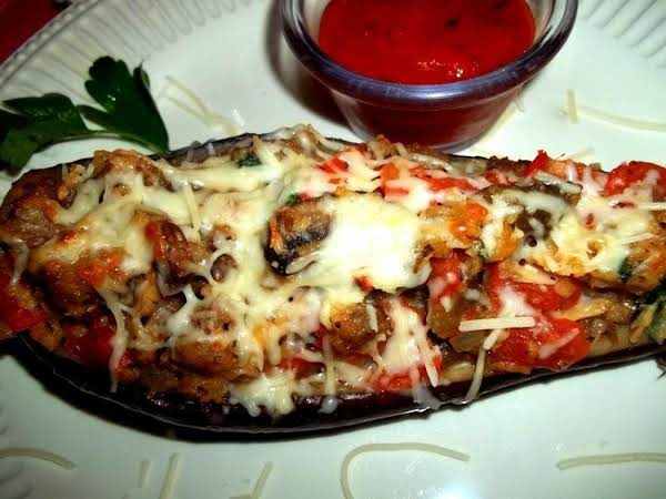 Savory ~ Superb ~ Stuffed Eggplant - Cassies Recipe