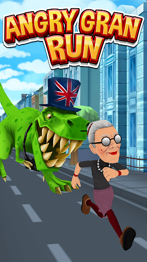 Angry Gran Run - Running Game apklade screenshots 1
