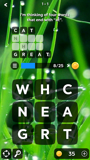 Word Bits: A Word Puzzle Game  screenshots 1