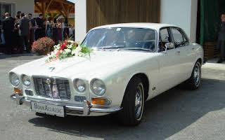 Jaguar XJ 6 (weiß) Rent Niederösterreich